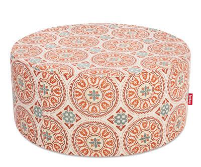 Pouf PFFFH / Pour l'extérieur - Ø 90 cm - Fatboy Ø 90 x H 40 cm orange en tissu