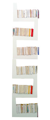 Furniture - Bookcases & Bookshelves - TwoSnakes Shelf - Set of 2 by La Corbeille - White - Lacquered MDF