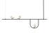 Sospensione Yanzi S1 - / LED - L 156 cm di Artemide