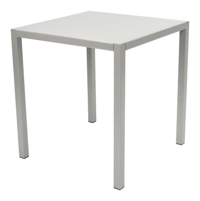 Outdoor - Garden Tables - Inside Out By Andrée & Olivia Putman Table - 70 x 70 cm by Fermob Idoles - Steel grey - Lacquered steel