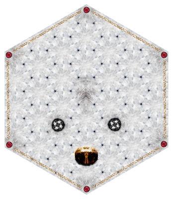 Déco - Tapis - Tapis Crystal Teddy / 215 x 185 cm - Moooi Carpets - Blanc - Polyamide