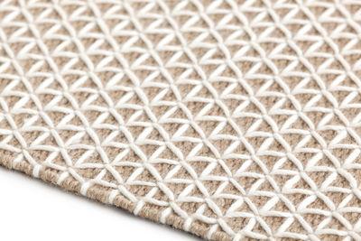 Tapis Raw Gan Blanc Jute Naturelle Made In Design