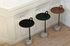 Tavolino d'appoggio Bowler - / Metallo & granito di Hay