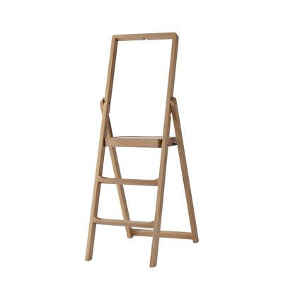 Möbel - Beistell-Möbel - Step Treppenleiter zusammenklappbar / Holz - H 66 cm - Design House Stockholm - Eiche - massive Eiche