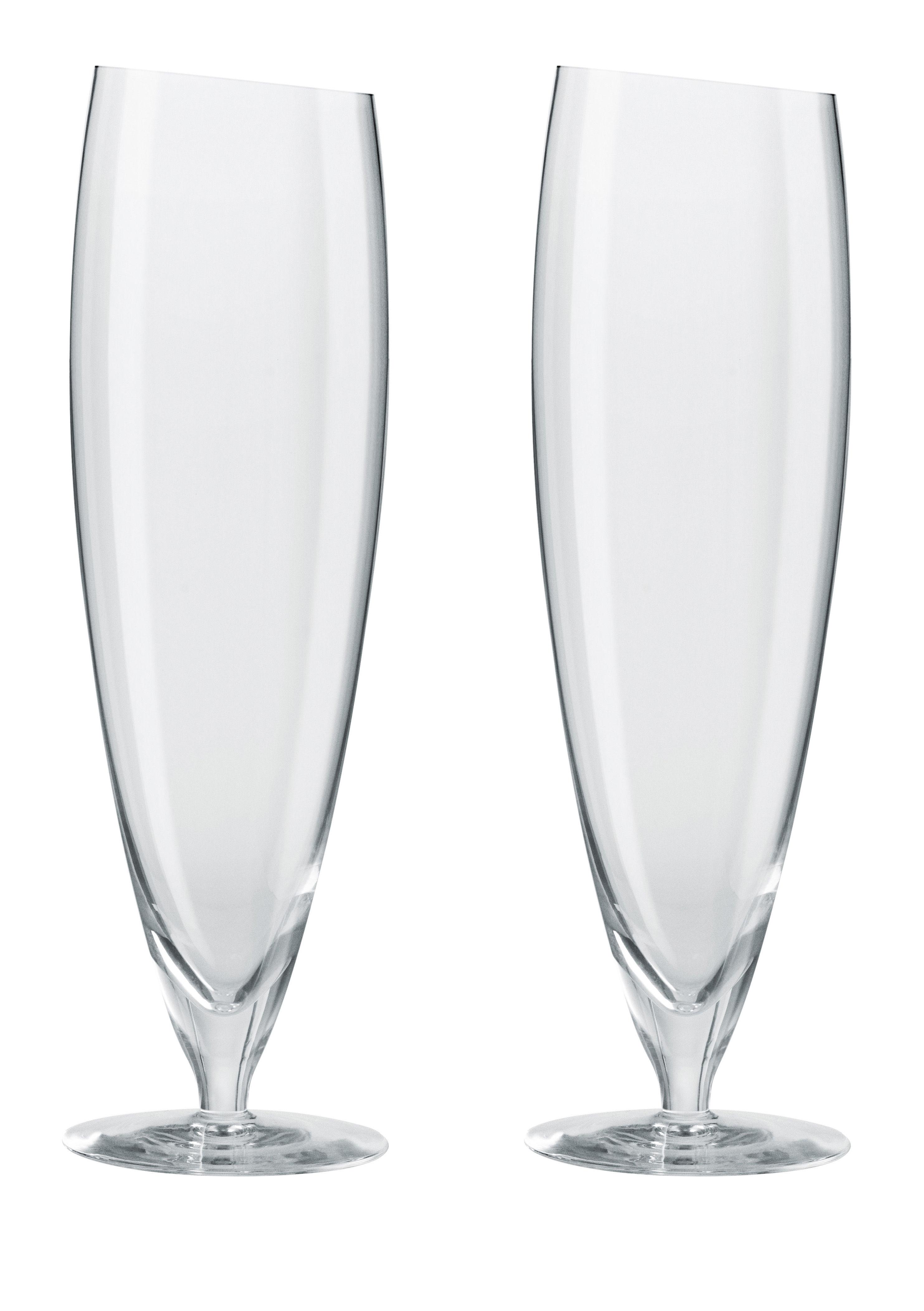 Arts de la table - Verres  - Verre à bière / Lot de 2 - 50 cl - Eva Solo - Transparent - Verre soufflé bouche