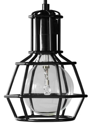 Lighting - Table Lamps - Work Wireless lamp - / on the floor or suspended - Limited edition by Design House Stockholm - Black - Painted metal
