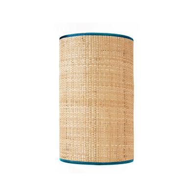 Luminaire - Appliques - Applique Spérone / Rabane - Non électrifiée - Maison Sarah Lavoine - Bleu Sarah / Naturel - Rabane naturelle, Tissu