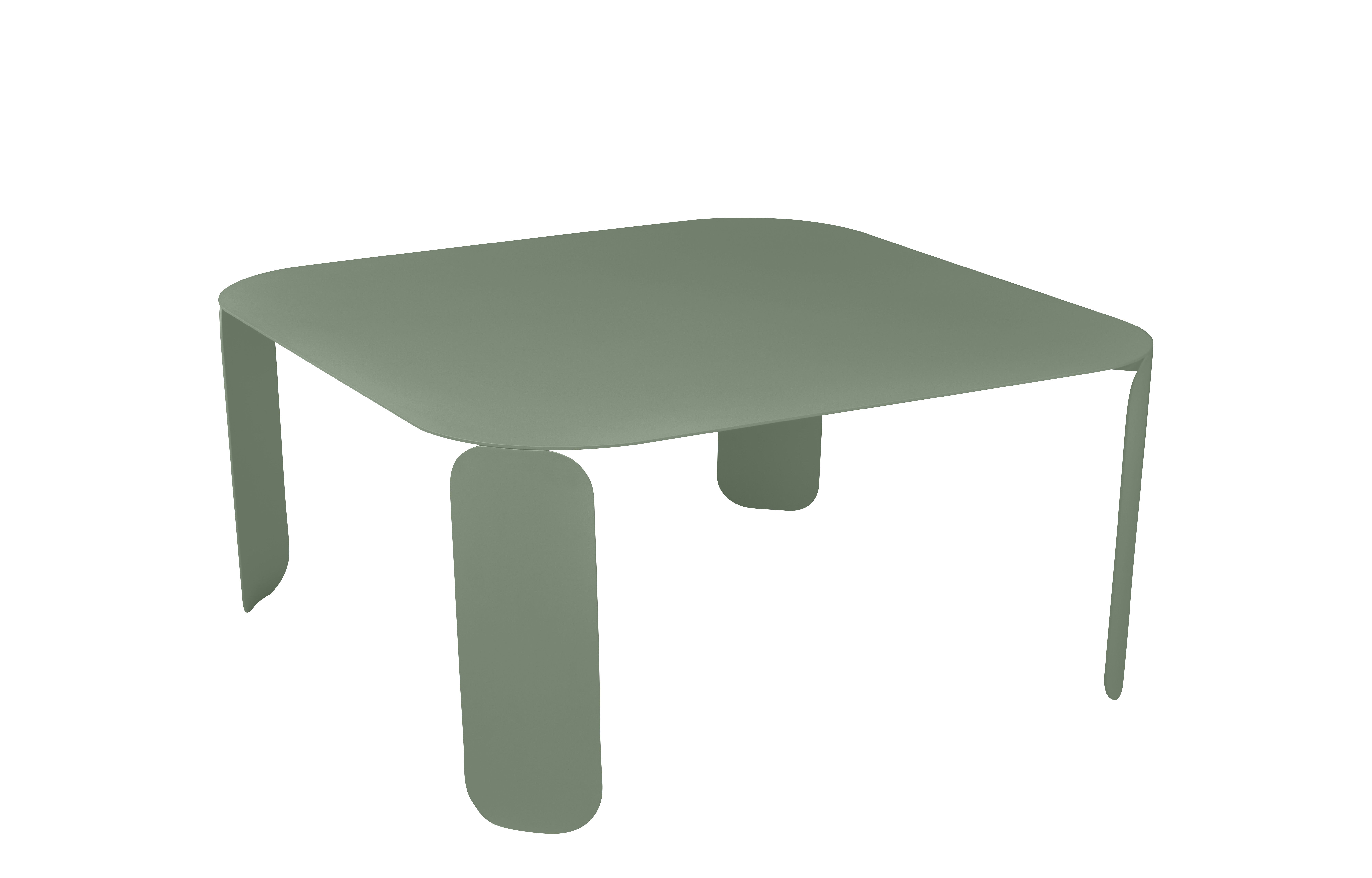 Furniture - Coffee Tables - Bebop Coffee table - / L 90 x H 42 cm by Fermob - Cactus - Aluminium, Steel