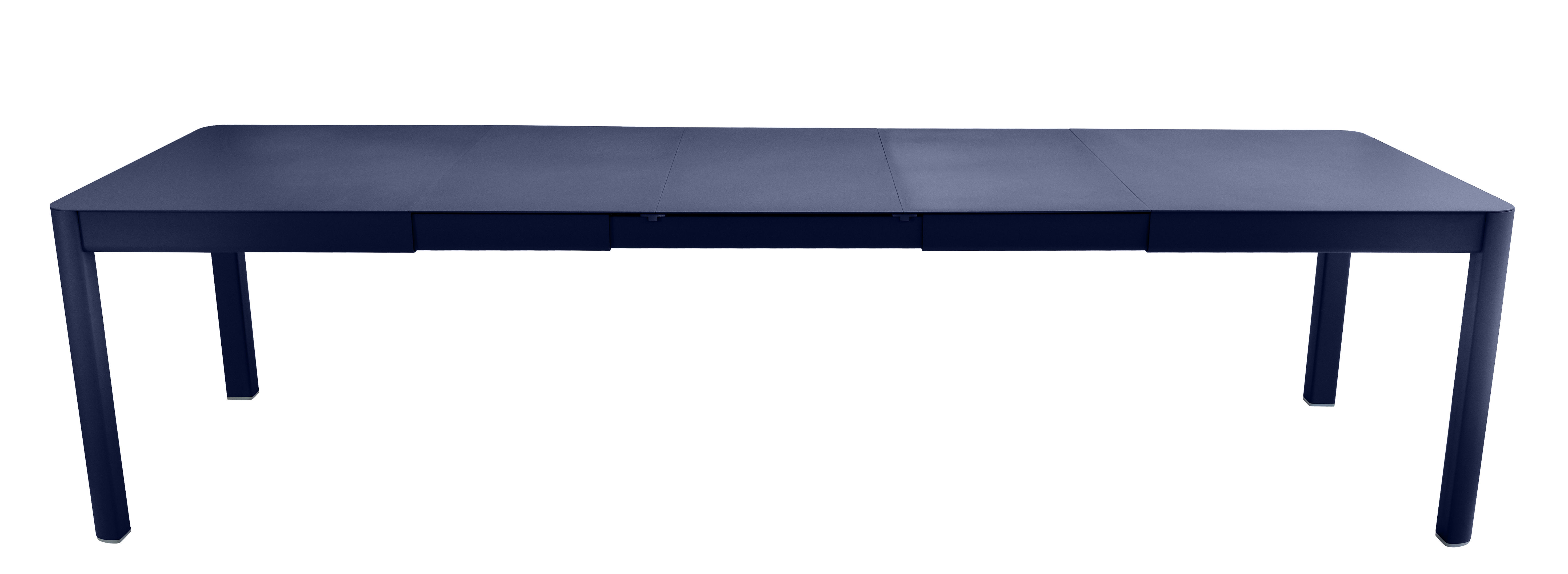 Outdoor - Garden Tables - Ribambelle XL Extending table - / L 149 to 290  - 6 to 14 people by Fermob - Ocean Blue - Aluminium