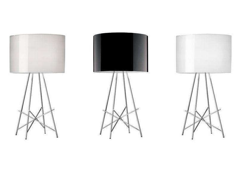 Lampade Da Tavolo Flos : Lampada da tavolo ray t flos h 67 x Ø 36 made in design
