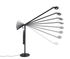 Lampe de table Fifty-Fifty Mini / Orientable - H 45 cm - Hay