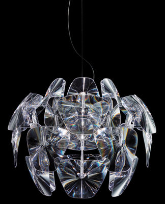 Lighting - Pendant Lighting - Hope Pendant - Ø 72 cm by Luceplan - Ø 72 cm - Transparent - Polycarbonate