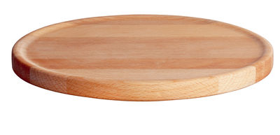 Tableware - Plates - Tonale Placemat by Alessi - Natural beech - Beechwood