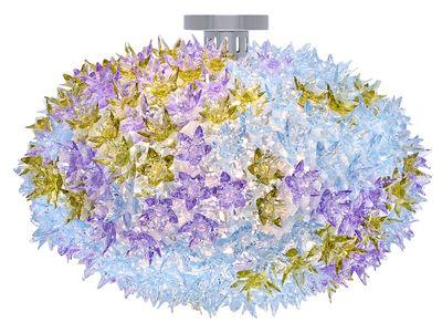 Plafonnier Bloom / Plafonnier - Ø 53 cm - Kartell lavande en matière plastique