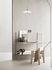 Scaffale String System - / Metallo traforato, bordo alto - L 58 x P 20 cm di String Furniture