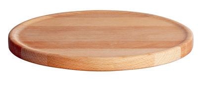 Arts de la table - Assiettes - Sous-assiette Tonale / Ø 22 cm - Alessi - Hêtre naturel - Hêtre