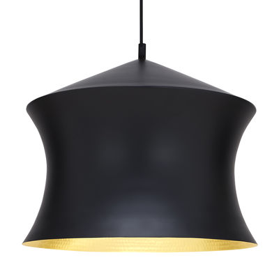 Suspension Beat Waist / Ø 33 x H 41 cm - Tom Dixon noir,or en métal
