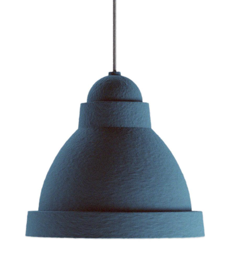 Luminaire - Suspensions - Suspension Salago Medium / Ø 50 cm - Papier - Moooi - Bleu - Acrylique