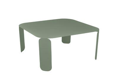 Mobilier - Tables basses - Table basse Bebop /90 x 90 x H 42 cm - Fermob - Cactus - Acier, Aluminium