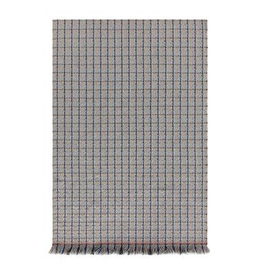 Image of Tappeto Garden Layers - / 90 x 200 cm di Gan - Blu/Grigio - Tessuto
