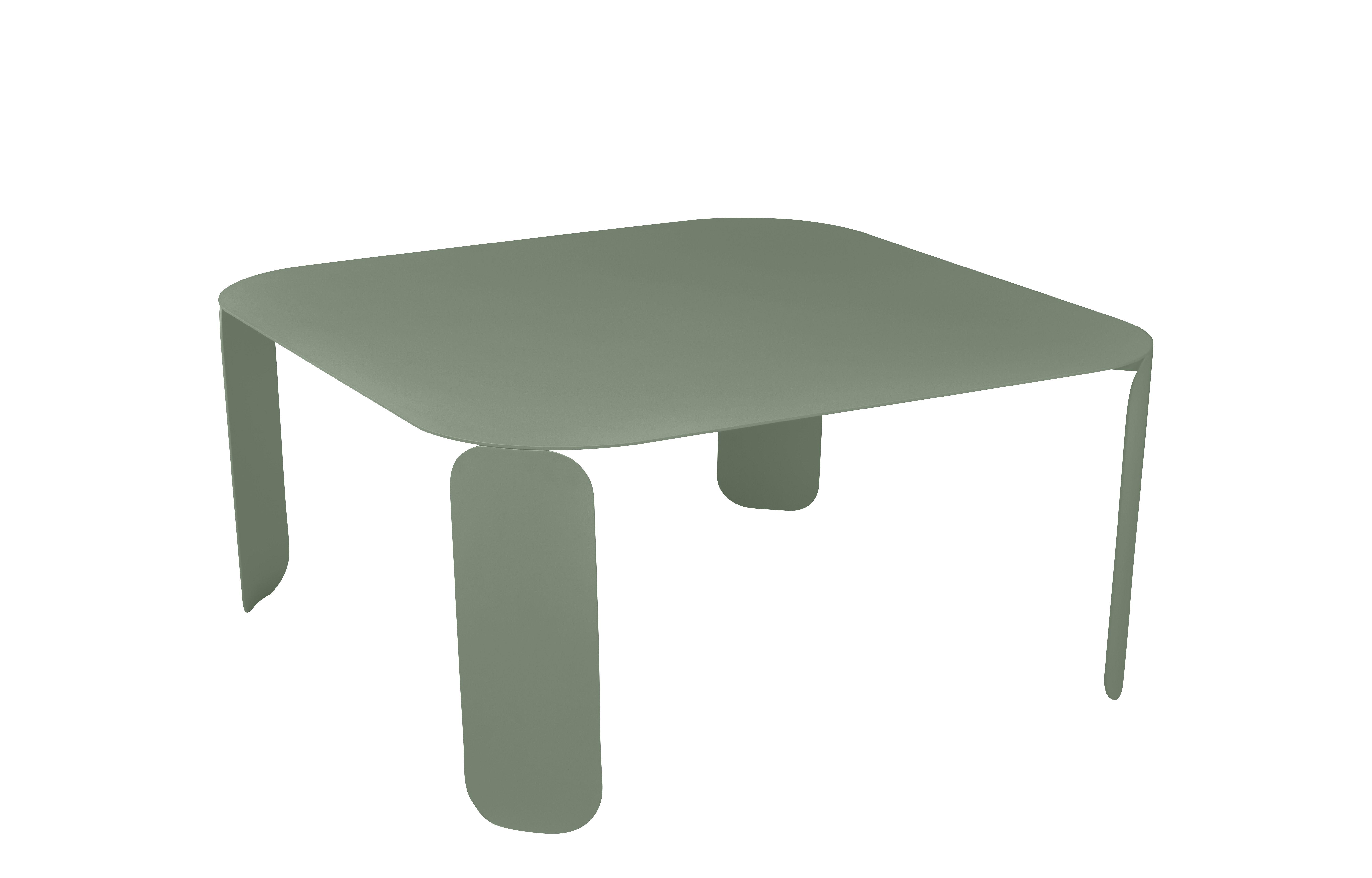 Arredamento - Tavolini  - Tavolino Bebop - / L 90 x H 42 cm di Fermob - Cactus - Acciaio, Alluminio