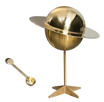 Cucina - Zuccheriere - Zuccheriera Cosmic Diner - Lunar - / Con cucchiaio di Diesel living with Seletti - Ottone brillante - Ottone