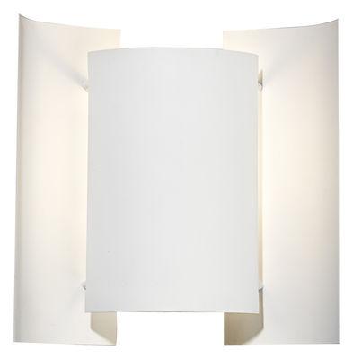 Illuminazione - Lampade da parete - Applique Butterfly - Riedizione del 1964 di Northern  - Bianco - Acciaio laccato