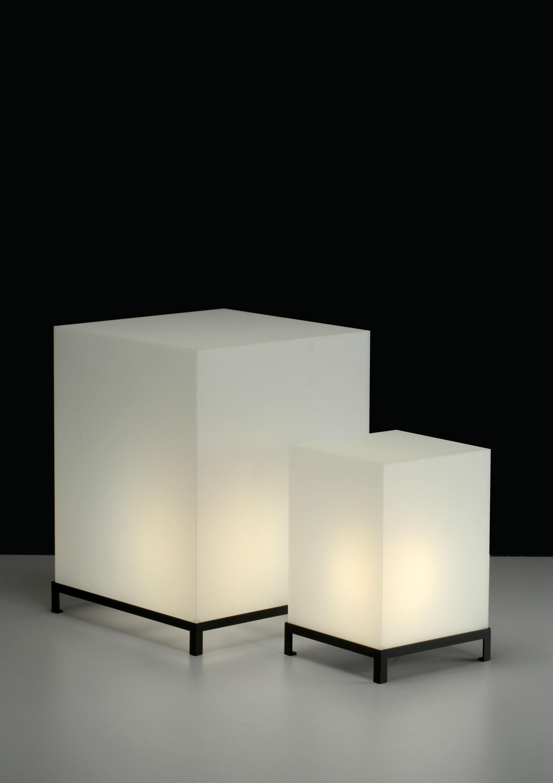 Bodenleuchte Star Cube Von Zeus Weiss H 65 Cm H 65 Made In Design