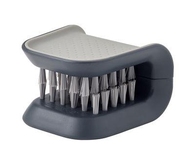 Brosse à couverts BladeBrush - Joseph Joseph gris en matière plastique