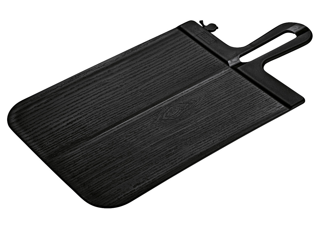 Kitchenware - Kitchen Equipment - Snap Chopping board by Koziol - Black - Polypropylene