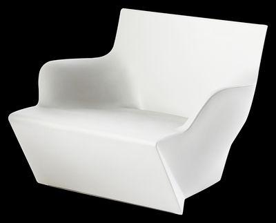 Chaise lumineux Kami San - Slide blanc en matière plastique
