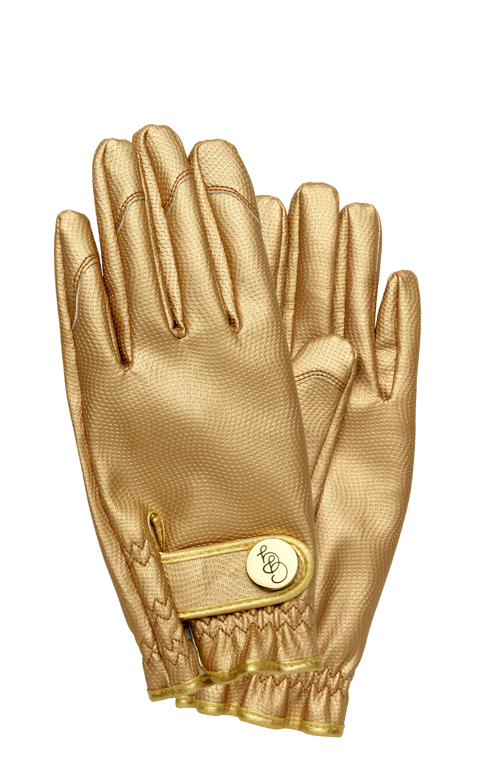 Outdoor - Pots & Plants - Garden gloves - / Small Size by Garden Glory - Gold - Brass, Polyurethane