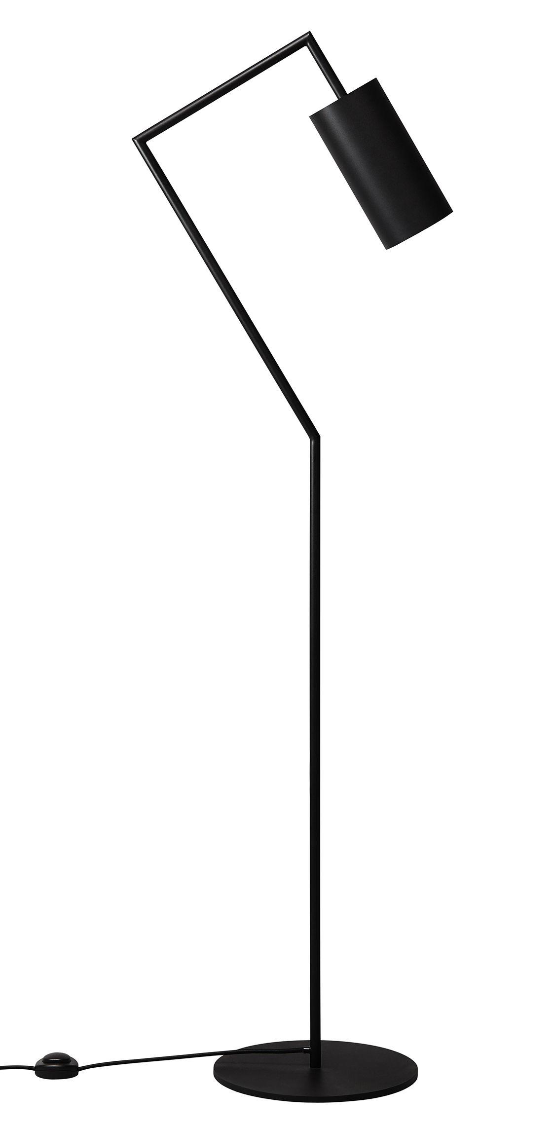 Luminaire - Lampadaires - Lampadaire Droid / H 151 cm - Rewired - Noir - Acier laqué époxy