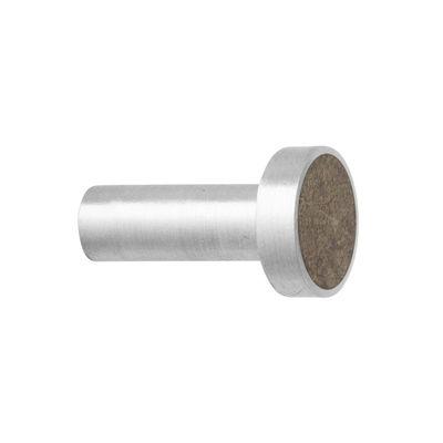 Patère Marbre Small / Poignée - Ø 2 cm - Ferm Living marron en pierre