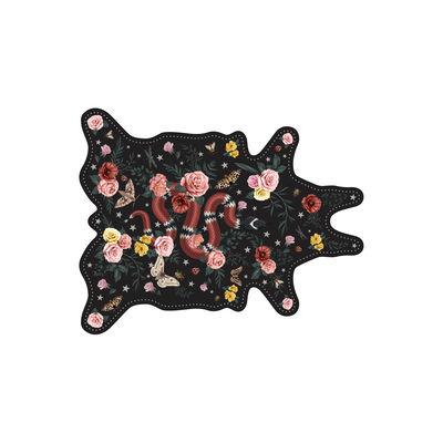 Set de table Serpent / 38 x 48 cm - Vinyle - PÔDEVACHE multicolore,noir en matière plastique