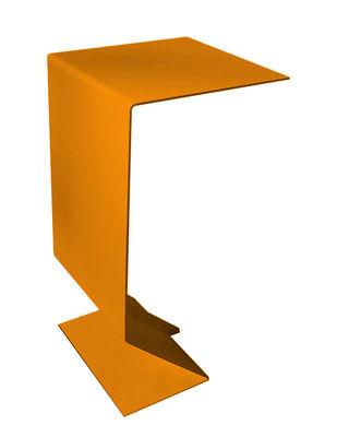 Image of Tavolino d'appoggio Mark di Moroso - Arancione - Metallo
