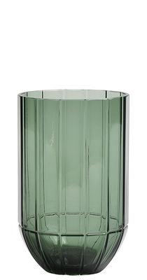 Déco - Vases - Vase Colour Medium / Ø 9,5 x H 15 cm - Hay - Vert - Verre soufflé