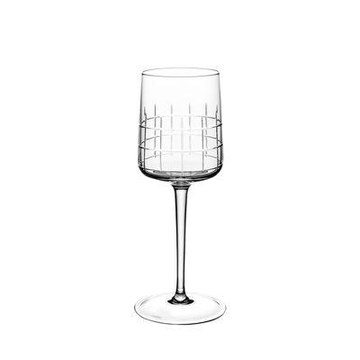 Arts de la table - Verres  - Verre à eau Graphik / Cristal soufflé bouche - Christofle - Transparent - Cristal soufflé bouche