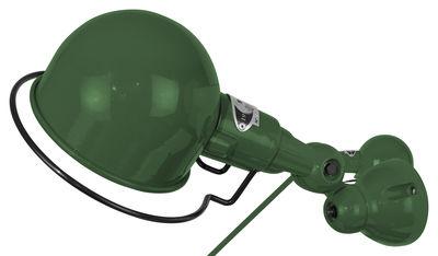 Applique Signal Ø 10 cm - Jieldé vert olive brillant en métal