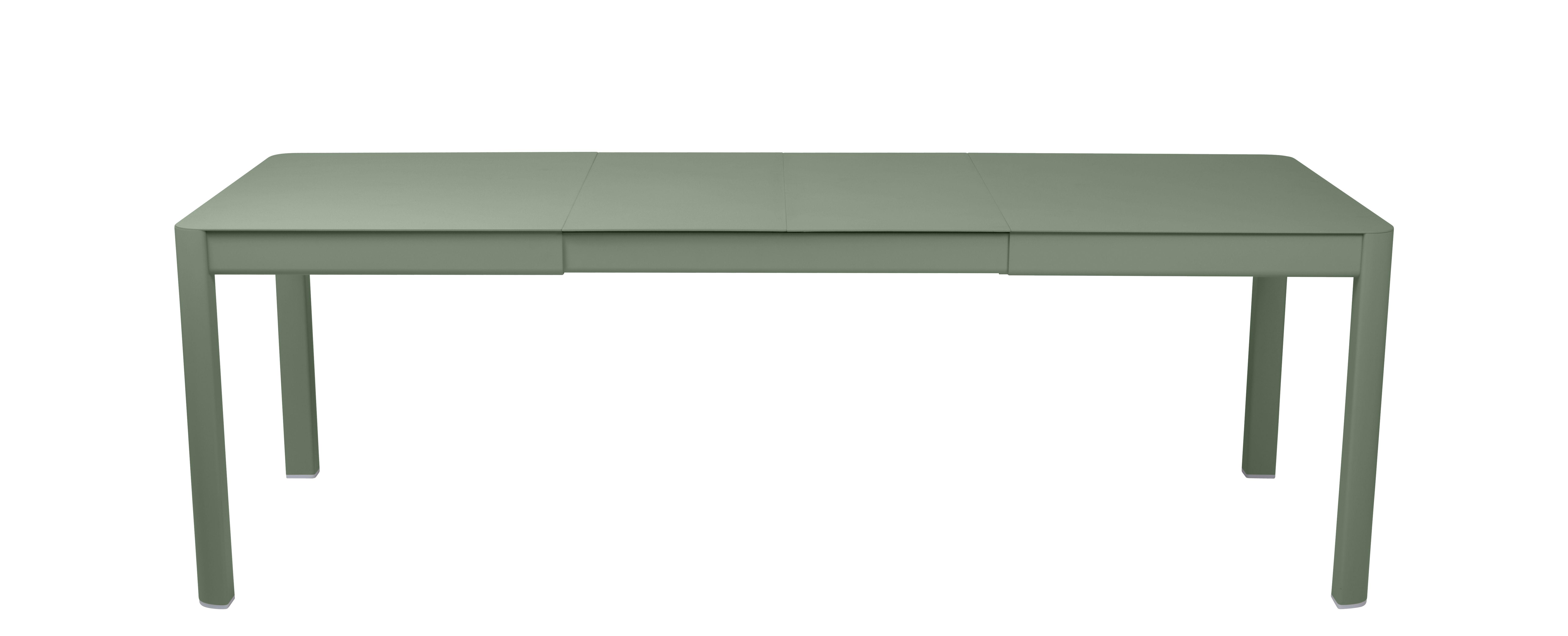 Outdoor - Tische - Ribambelle Medium Ausziehtisch / L 149 bis 234 cm - für 6 bis 10 Personen - Fermob - Kaktus - Aluminium