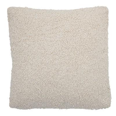 Déco - Coussins - Coussin / 50 x 50 cm - Coton bouclé - Bloomingville - Crème - Coton bouclé