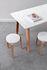 New Modern Desk - / 130 x 70 cm - Recycled plastic by TIPTOE
