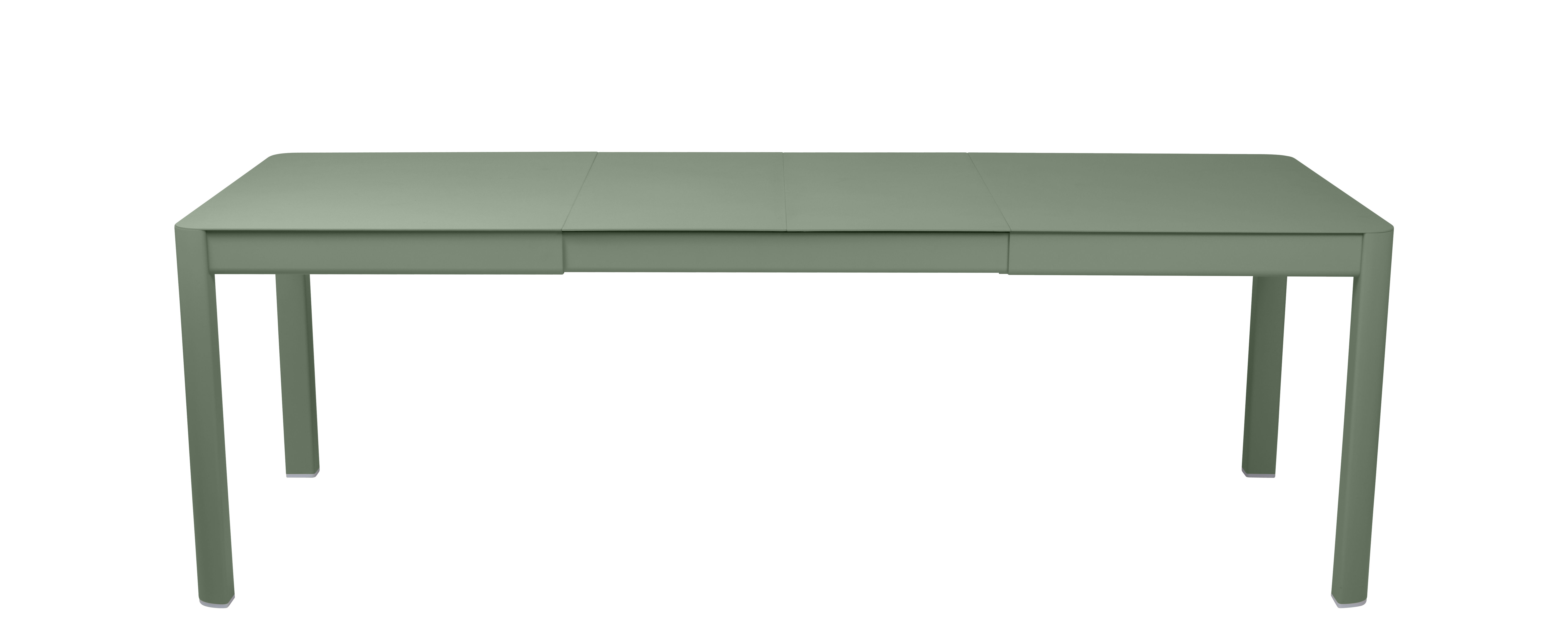 Outdoor - Garden Tables - Ribambelle Medium Extending table - / L 149 to 234 cm - 6 to 10 people by Fermob - Cactus - Aluminium