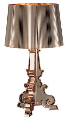 Lampe de table Bourgie Or / H 68 à 78 cm - Kartell or en matière plastique