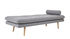 Asher Lounge chair - / Fabric & wood - 190 x 80 cm by Bloomingville