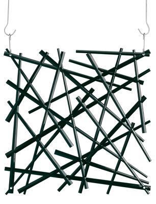 Arredamento - Separè, Paraventi... - Paravento/divisorio Stixx - Set di 4 - ganci inclusi di Koziol - Nero opaco - policarbonato