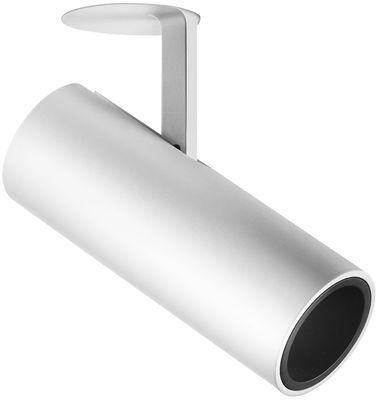 Luminaire - Plafonniers - Plafonnier encastré Find Me Monopoint LED / Spot rétractable et orientable - Flos - Blanc - Aluminium