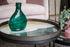 Plateau Slate Wabi Sabi / Ø 61 cm - Bois & verre peint main - Ethnicraft