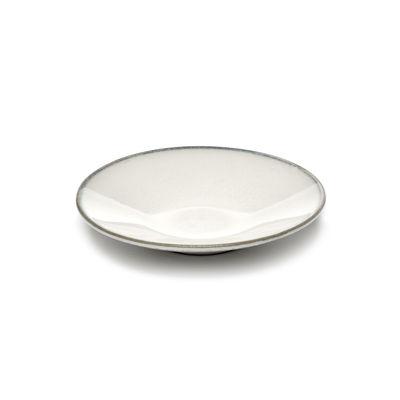 Tableware - Coffee Mugs & Tea Cups - Saucer - / For Inku coffee cup by Serax - Saucer / White - Enamelled sandstone