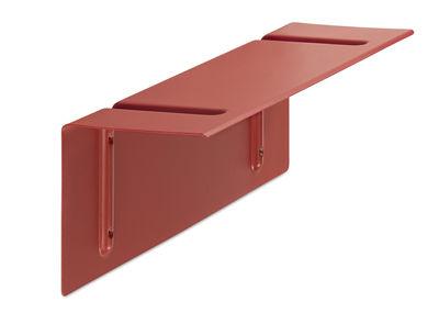 Arredamento - Scaffali e librerie - Scaffale Brackets Included - / L 60 cm di Hay - Rosso - Acciaio laccato